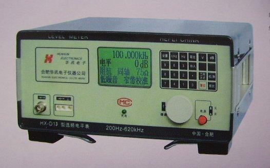 增益,衰减,防卫度等性能的测试,还可单独用于其它测量中作电平指示或
